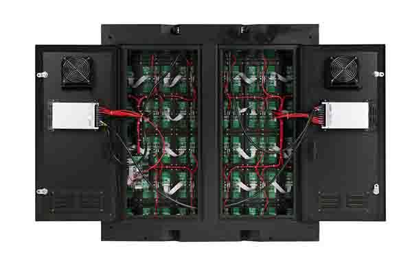 Cabin led có cánh cửa được sử dụng để lắp ráp tạo ra màn hình led ngoài trời
