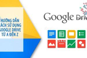 hướng dẫn cách sử dụng google drive